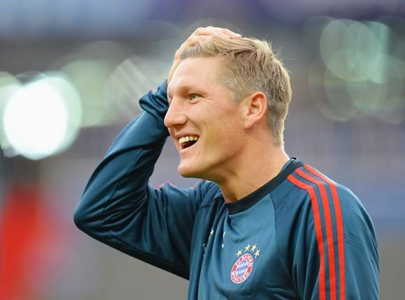 Bastian Schweinsteiger of FC Bayern Munchen