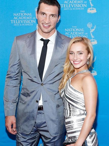Boxer Wladimir Klitschko and actress/model Hayden Panettiere