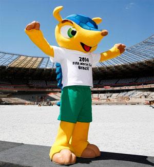Brazil football World Cup mascot