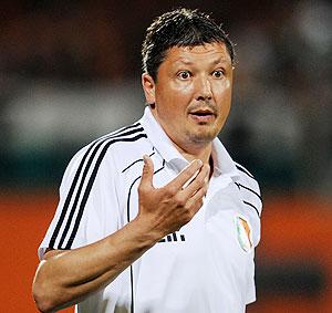 Bulgaria coach Penev