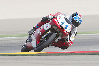 Miguel Oliveira of Portugal and Mahindra Racing