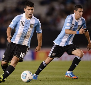 Argentina to face Uruguay without Di Maria and Aguero