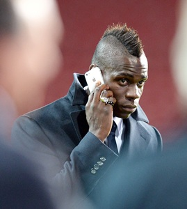 Maverick Balotelli tired of being in 'eye of cyclone'