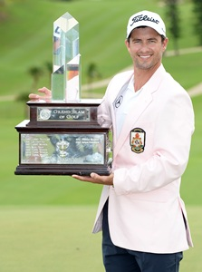 Adam Scott wins Grand Slam title with sizzling finish