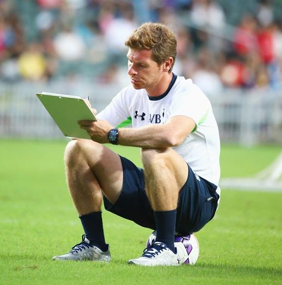 Andre Villas-Boas coach of Tottenham Hotspur