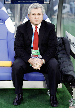 Mexico coach Victor Vucetich