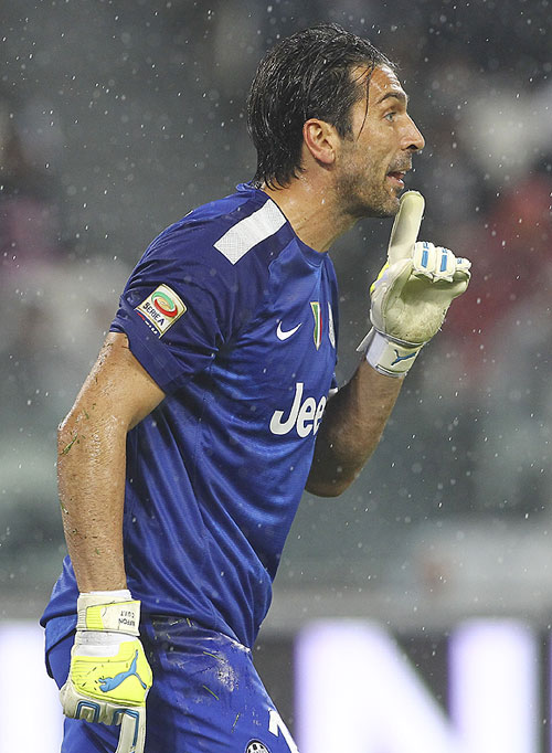 Gianluigi Buffon of Juventus
