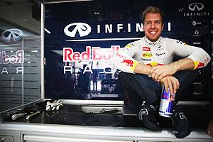 Sebastian Vettel at the Indian GP