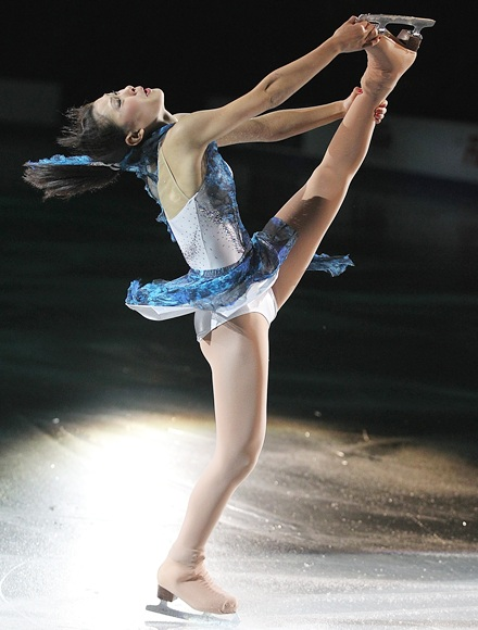 PHOTOS: Take a look at the figure skaters!