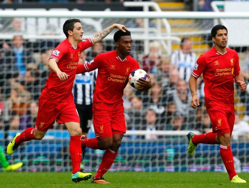 Daniel Sturridge scores for Liverpool