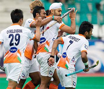 India hockey players