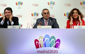 Madrid says economic crisis ending, can afford 2020 Games
