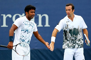 Leander Paes and Radek Stepanek