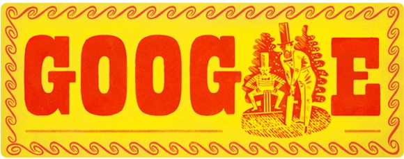John Wisden: Google doodles for the cricketing great