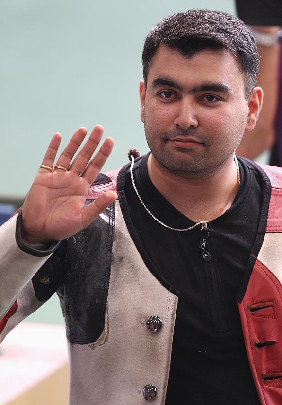 Gagan Narang of India