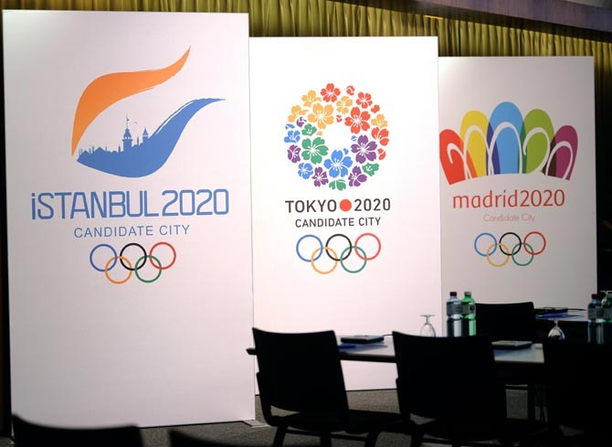 Istanbul, Madrid and Tokyo in final push to win 2020 Olympic Games