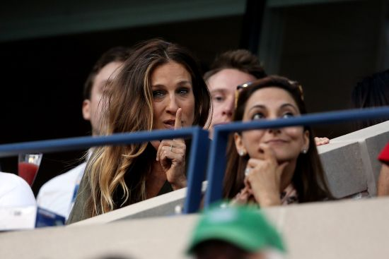 PHOTOS: See who was there for the US Open women's final