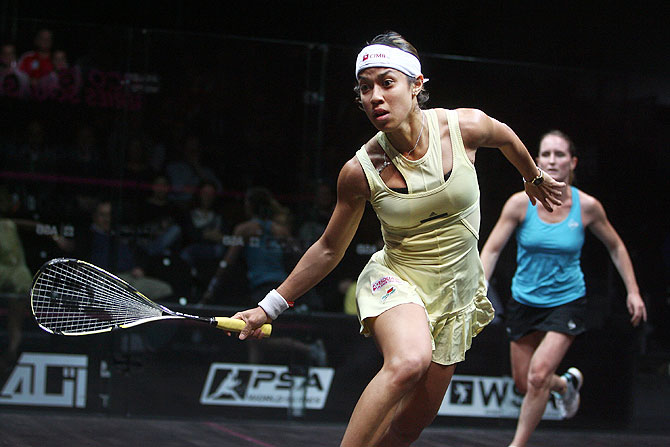 World No 1 squash player Nicol David of Malaysia