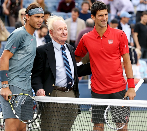Spotted: Celebs watch Nadal-Djokovic sweat it out!