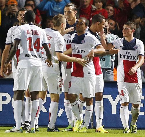 Lucas Ends Goal Wait As PSG Win Puts Them Top