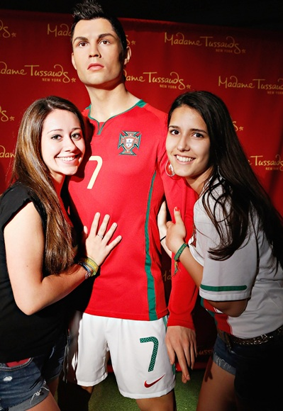 Madame Tussauds New York launches a Cristiano Ronaldo wax figure