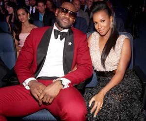 champion LeBron James wed long-time girlfriend Savannah Brinson