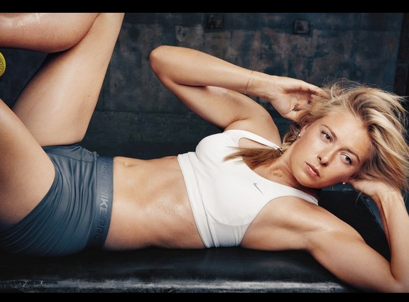 PHOTOS: The making of tennis goddess Maria Sharapova!