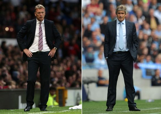 Manuel Pellegrini and David Moyes
