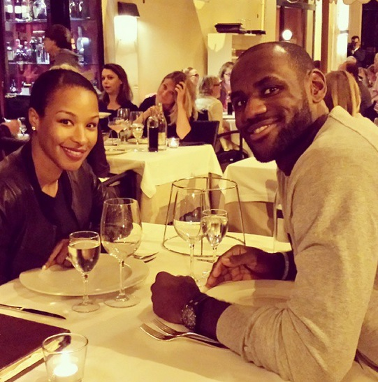 Blissful LeBron James shares 'first post-wedding' pictures!