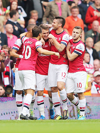 EPL: Ramsey to the party again as Arsenal rocket to top