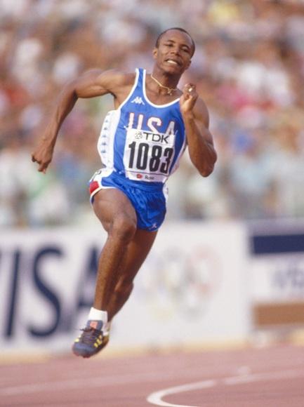 Calvin Smith of the USA