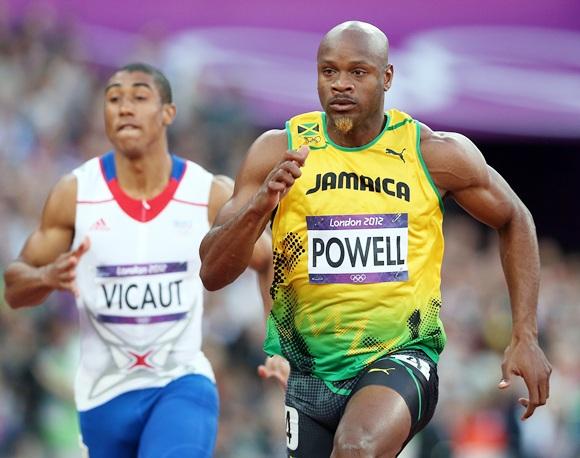 Asafa Powell of Jamaica