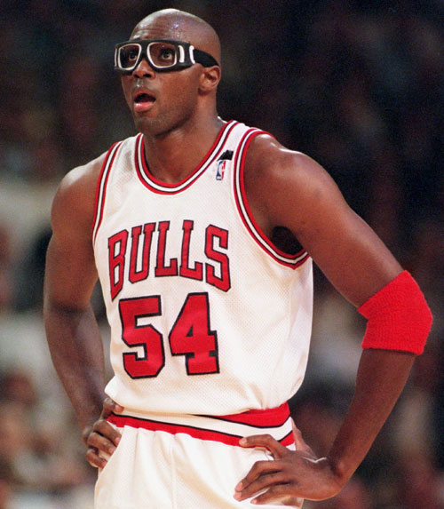 Chicago Bulls forward Horace Grant
