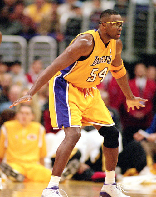 Horace Grant of the Los Angeles Lakers