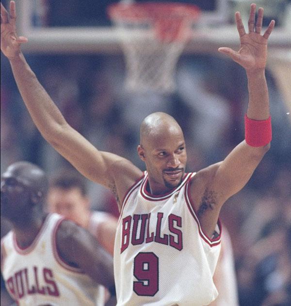 Ron Harper of the Chicago Bulls