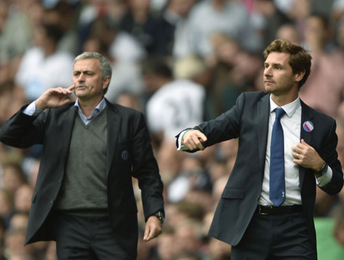 EPL: Mourinho, Villas-Boas managerial battle ends in stalemate