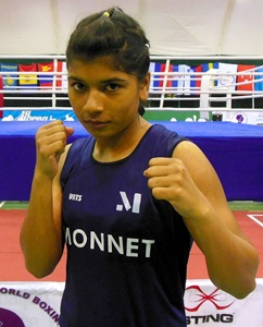 Women's Youth World Boxing: Zareen enters final