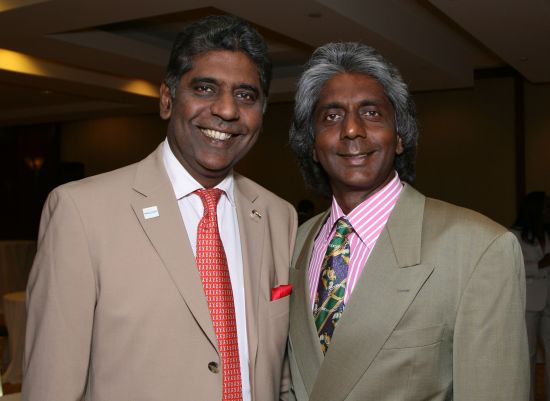 Anand and Vijay Amritraj