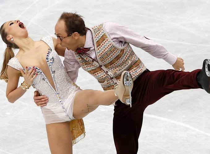 Germany's Nelli Zhiganshina and Alexander Gazsi