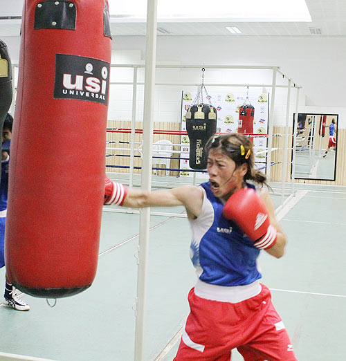 Indian boxing sensation M C Mary Kom