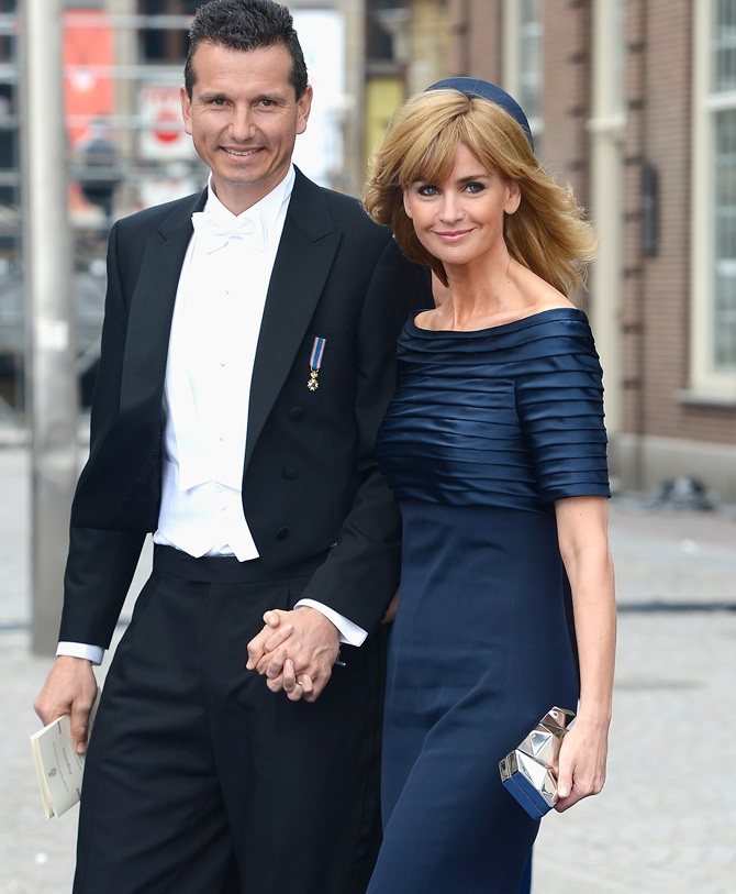 Richard Krajicek and his wife Daphne Deckers