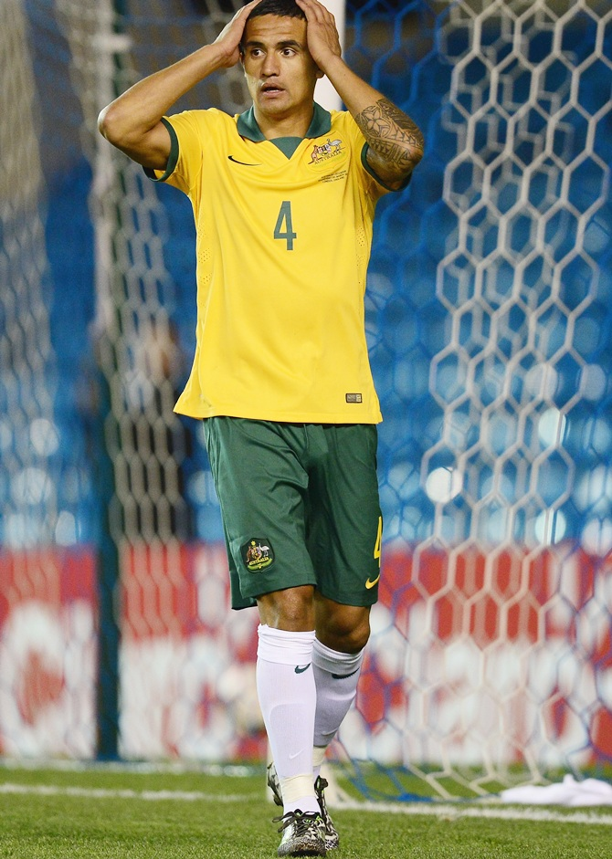 Tim Cahill of Australia