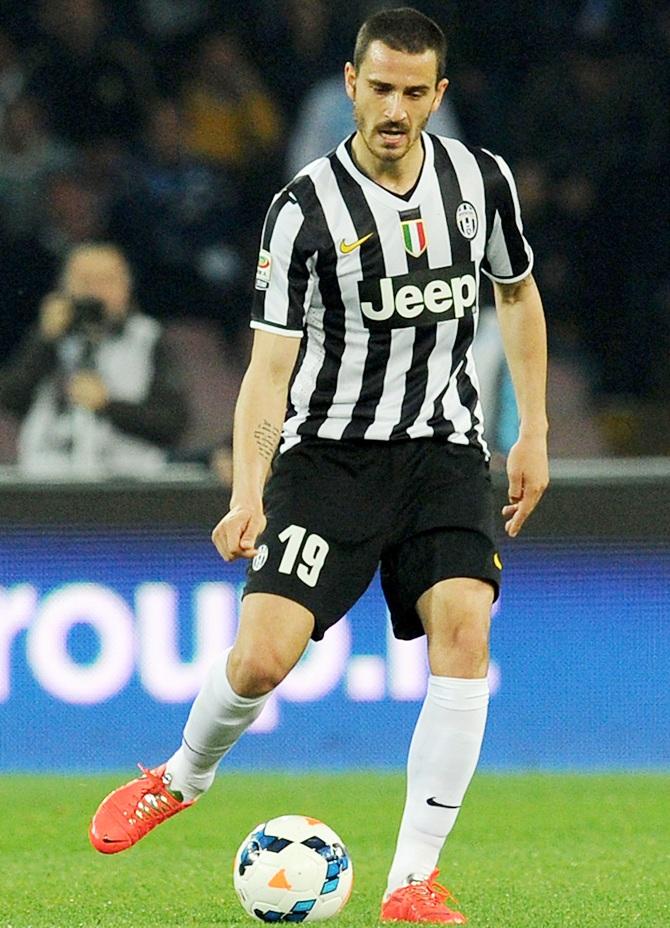 Leonardo Bonucci of Juventus in action