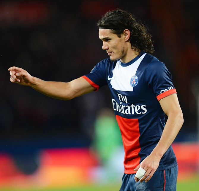 Edison Roberto Cavani of Paris Saint-Germain FC