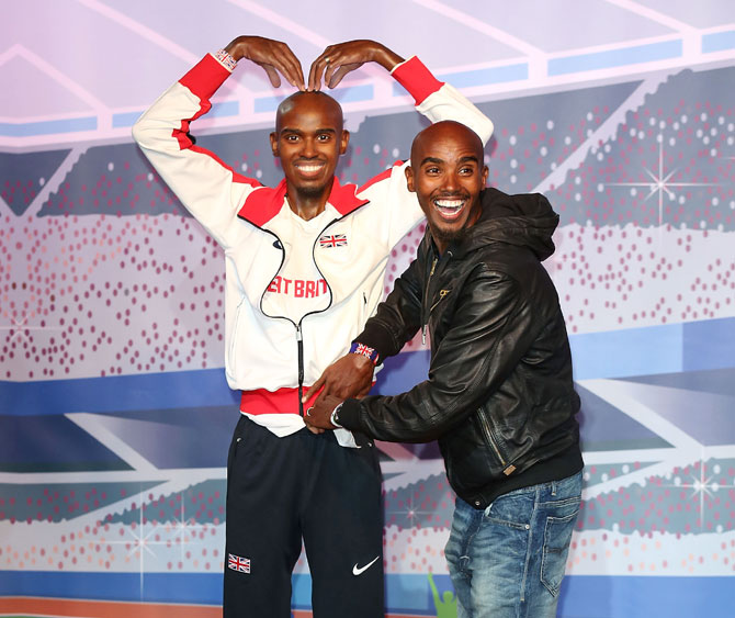 Rediff Sports - Cricket, Indian hockey, Tennis, Football, Chess, Golf - Mo Farah says Birmingham will be his last indoor race