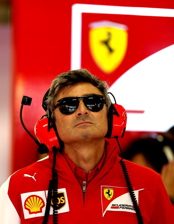 New Ferrari team boss Marco Mattiacc