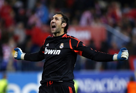 Goalkeeper Diego Lopez