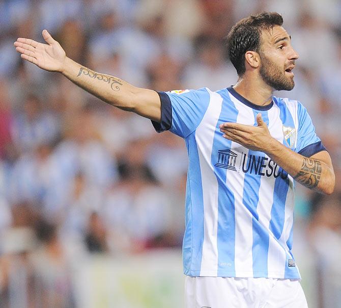 Jesus Gamez of Malaga CF