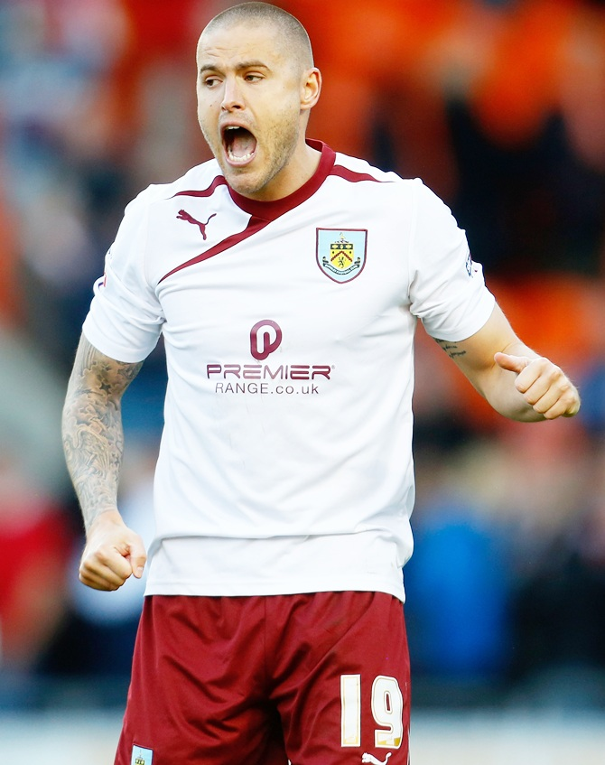 Michael Kightly of Burnley