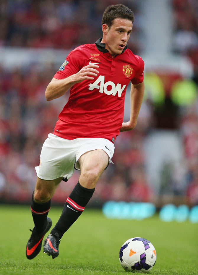 Angelo Henriquez of Manchester United